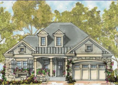 French-country Style House Plans Plan: 10-1312
