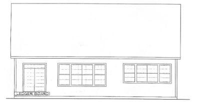 Rear Elevation Plan: 10-1314