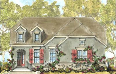 European Style House Plans Plan: 10-1315