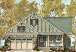 Craftsman Style Floor Plans Plan: 10-1317