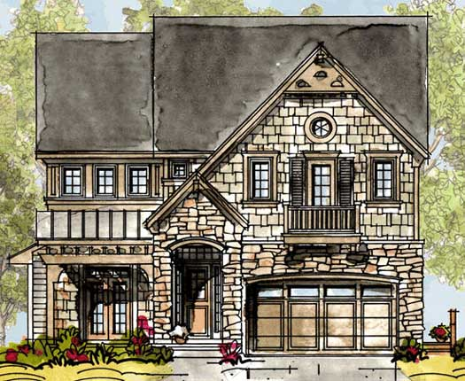 European Style Floor Plans Plan: 10-1319