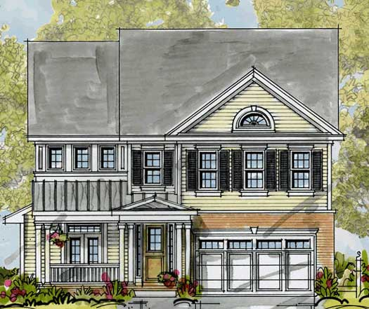 Traditional Style House Plans Plan: 10-1320