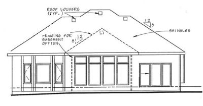 Rear Elevations Plan:10-1326