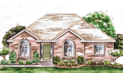 Traditional Style Floor Plans Plan: 10-1327