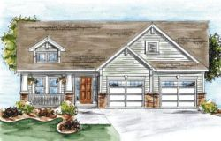 Craftsman Style Home Design Plan: 10-1329