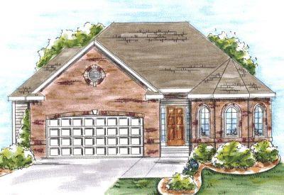 European Style Home Design Plan: 10-1332