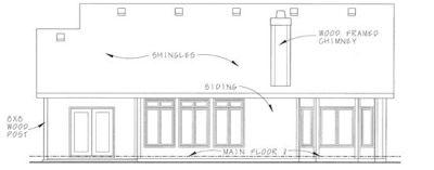 Rear Elevations Plan:10-1334