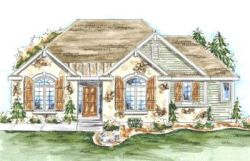 European Style House Plans Plan: 10-1335