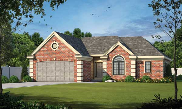 Traditional Style House Plans Plan: 10-1337