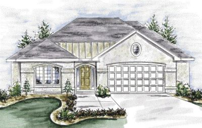 Mediterranean Style House Plans Plan: 10-1339