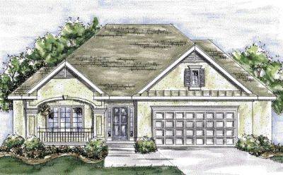 French-country Style Home Design Plan: 10-1340