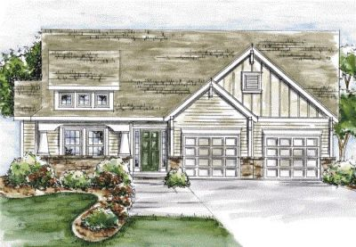 Craftsman Style Home Design 10-1341