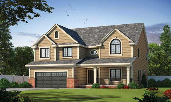 Traditional Style House Plans Plan: 10-1350