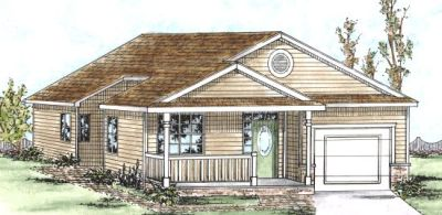 Traditional Style Home Design Plan: 10-1352