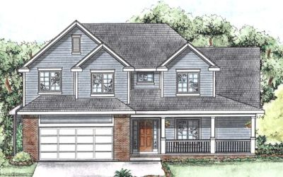 Traditional Style Home Design Plan: 10-1353