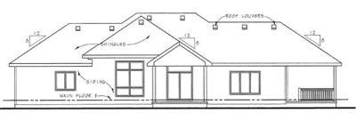 Rear Elevations Plan:10-1360