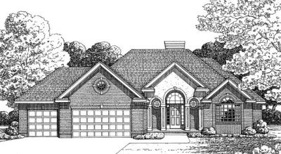 Traditional Style House Plans Plan: 10-1370