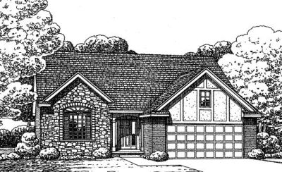 Traditional Style Floor Plans Plan: 10-1372