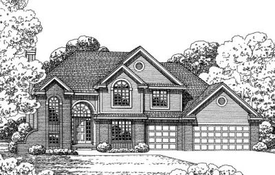 Traditional Style Floor Plans Plan: 10-1373