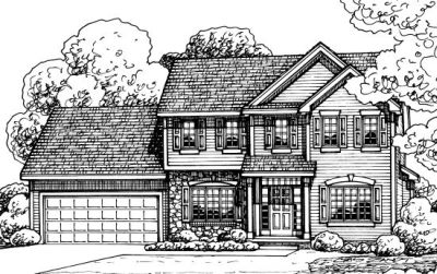 Traditional Style House Plans Plan: 10-1378