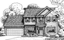 Traditional Style Floor Plans Plan: 10-1378