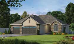 French-Country Style House Plans Plan: 10-1379