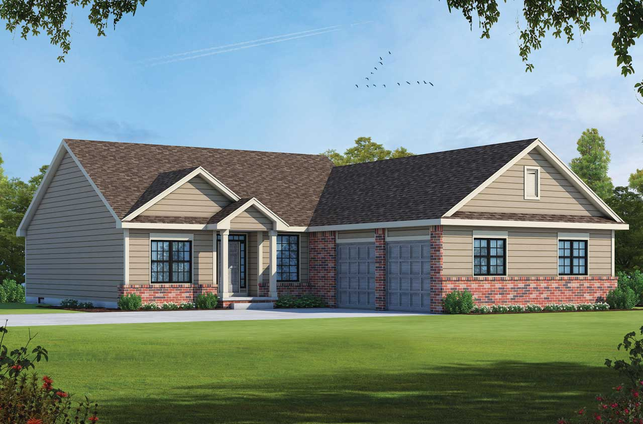 Traditional Style House Plans Plan: 10-1385