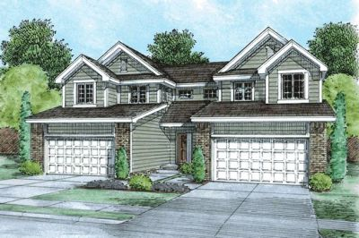 Traditional Style House Plans Plan: 10-1388