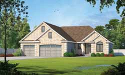French-Country Style Floor Plans Plan: 10-1394