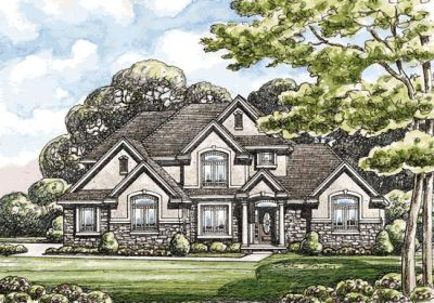 European Style Floor Plans Plan: 10-1400