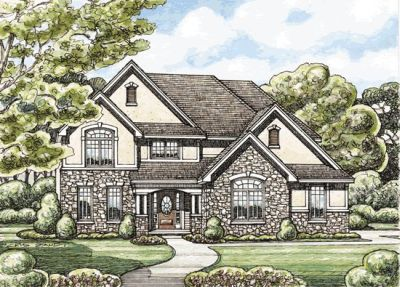 Traditional Style House Plans Plan: 10-1402