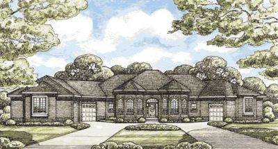 Traditional Style House Plans Plan: 10-1403