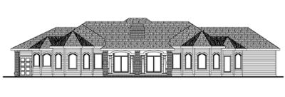 Rear Elevation Plan: 10-1403
