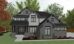 Craftsman Style Floor Plans Plan: 10-1407