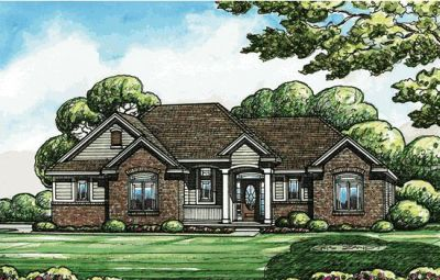 Traditional Style House Plans Plan: 10-1409