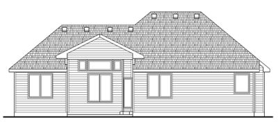 Rear Elevations Plan:10-1409