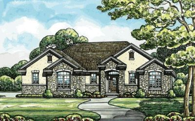 Traditional Style Floor Plans Plan: 10-1410