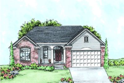 Traditional Style Home Design Plan: 10-1412
