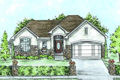 Traditional Style Floor Plans Plan: 10-1413