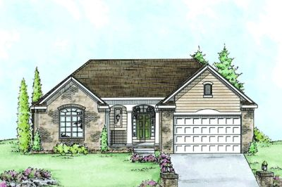 Traditional Style House Plans Plan: 10-1419