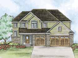 Traditional Style Home Design Plan: 10-1426
