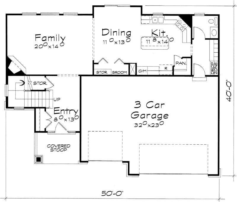 Main Floor Plan: 10-1427