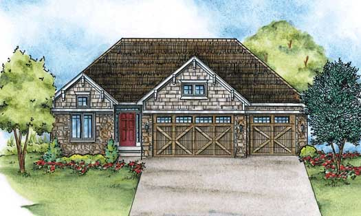 Craftsman Style House Plans Plan: 10-1431