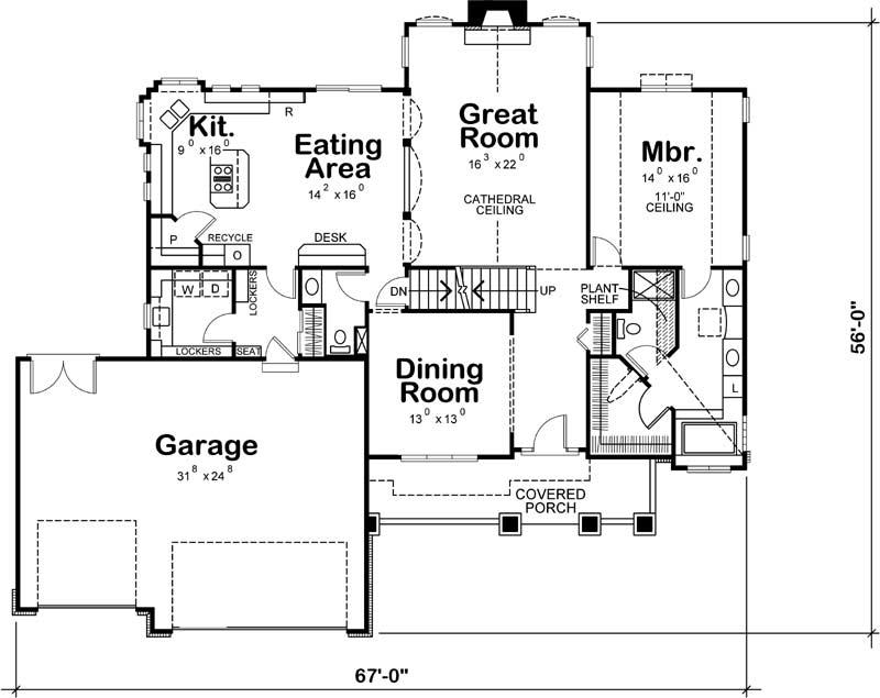 Main Floor Plan: 10-1437