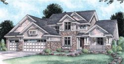 Craftsman Style Home Design Plan: 10-1448
