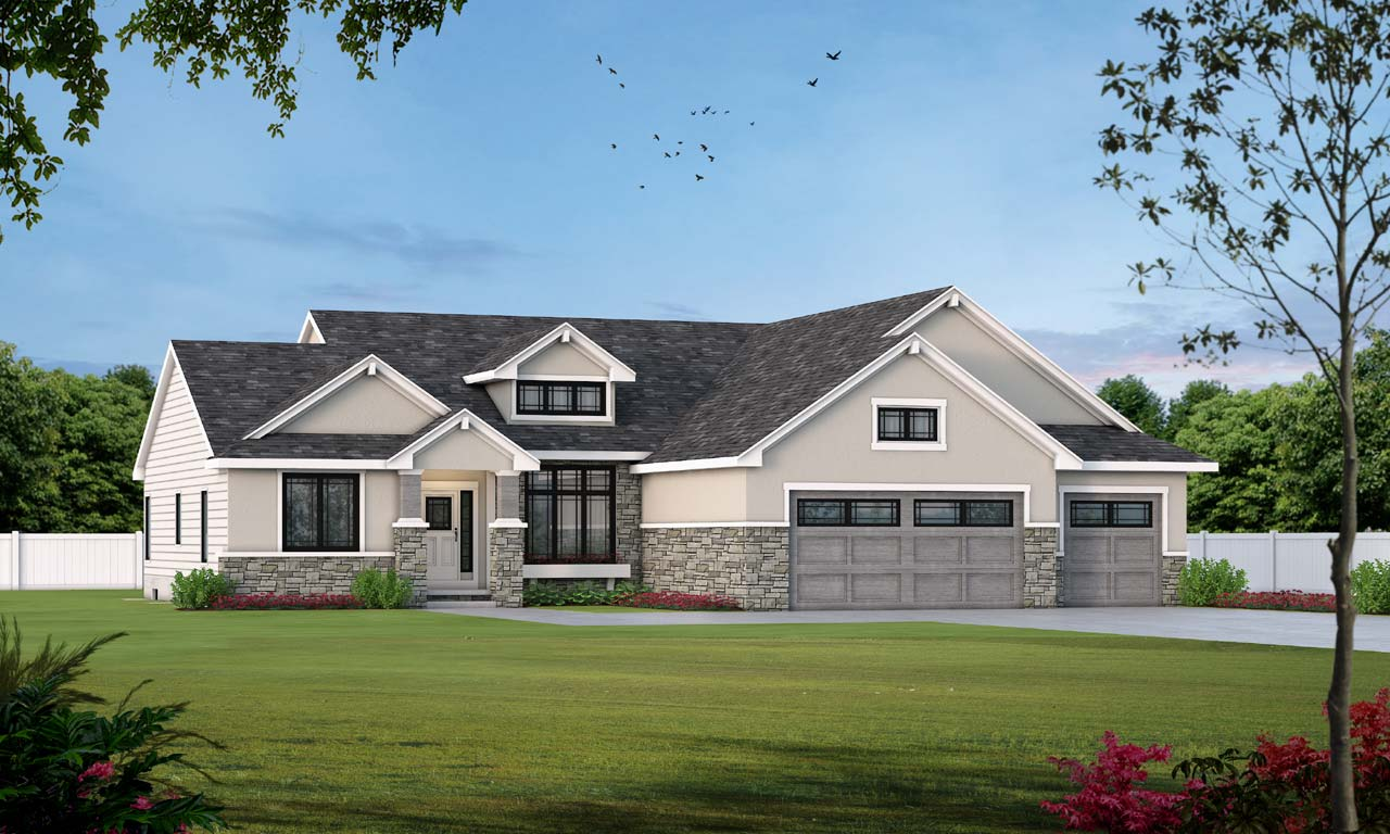 Traditional Style House Plans Plan: 10-1452