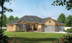 European Style Floor Plans Plan: 10-1457