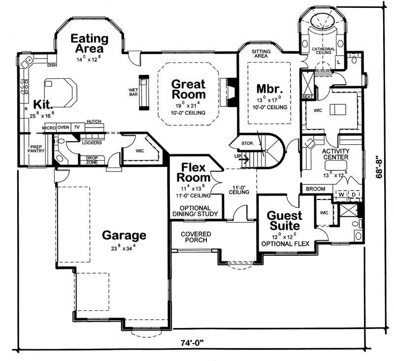 Main Floor Plan: 10-1463
