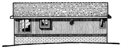 Rear Elevation Plan: 10-147