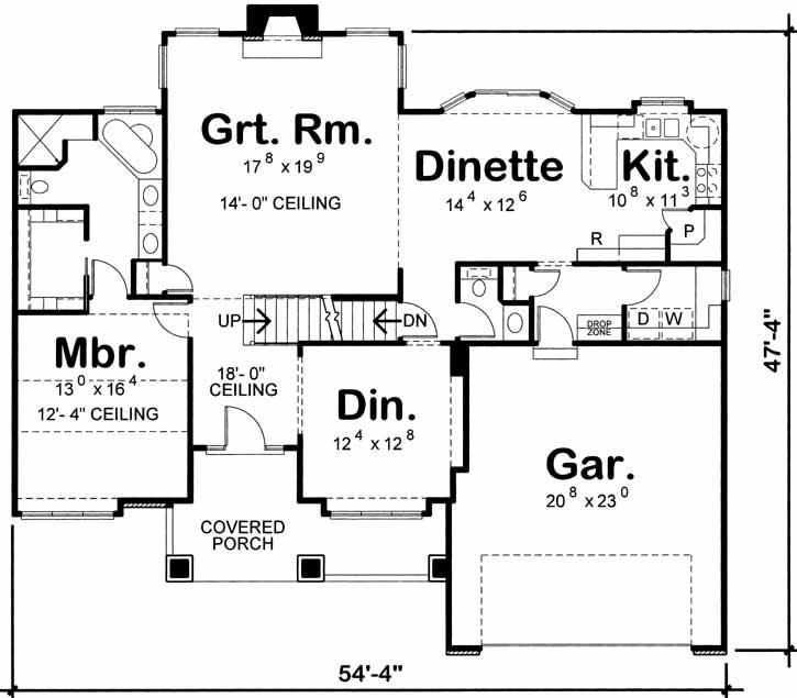 Main Floor Plan: 10-1471